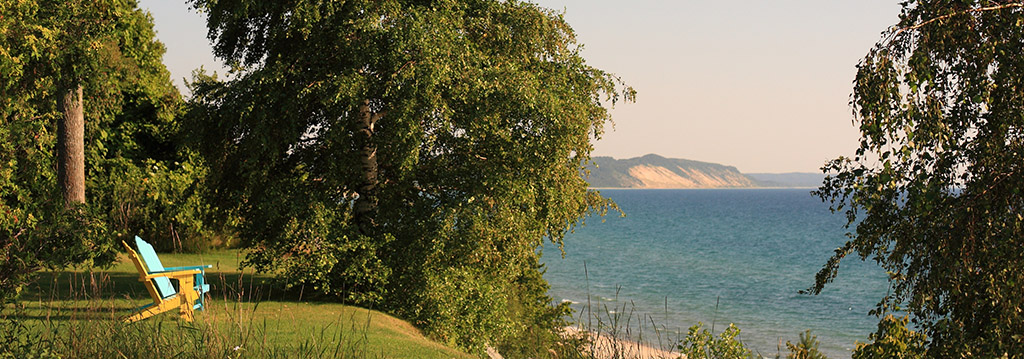 West Michigan bluffs